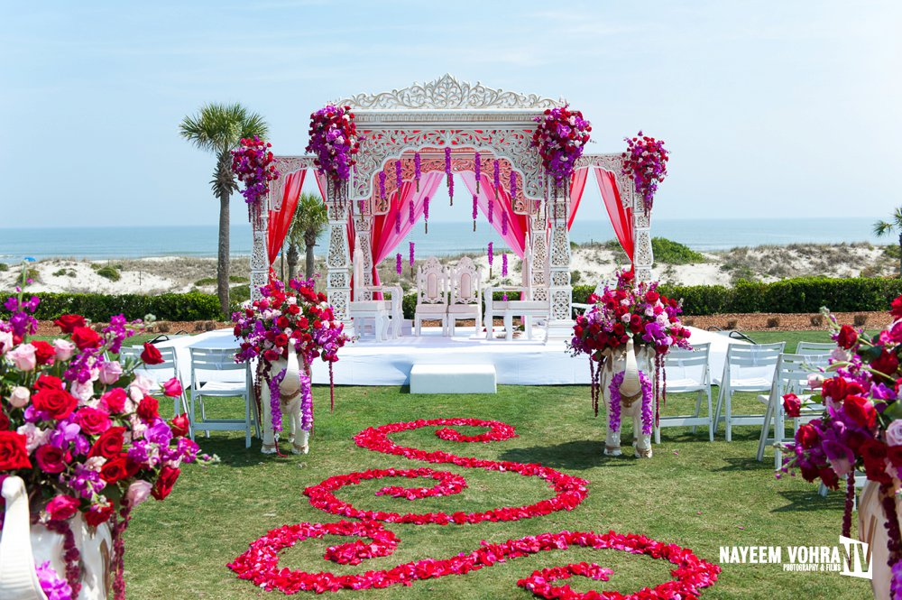 indian wedding at ritz carlton amelia island florida rubal john nayeem vohra photography. Black Bedroom Furniture Sets. Home Design Ideas